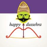 Dussehra concept Stock Images