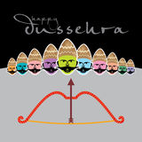 Dussehra concept Royalty Free Stock Photography