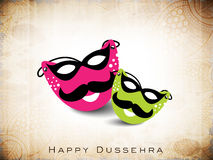 Dussehra festival background. Royalty Free Stock Image