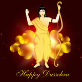 Dussehra festival background. Royalty Free Stock Photo