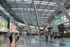 Dusseldorf Airport Royalty Free Stock Photos