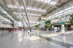 Dusseldorf airport interior Royalty Free Stock Photography