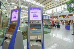 Dusseldorf airport interior Stock Image