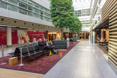 Dusseldorf airport interior Stock Photography