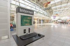 Dusseldorf airport interior Stock Photography