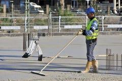 Dusseldorf, Allemagne - boom de construction Images stock
