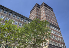 Dusseldorf Apartment Building Stock Image