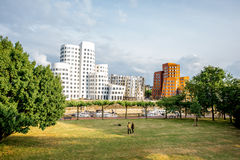 Dusseldorf city in Germany Royalty Free Stock Photos