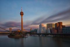 Dusseldorf cityscape Royalty Free Stock Photography