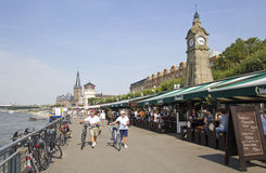 Dusseldorf deptak Zdjęcie Royalty Free
