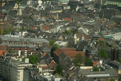 Dusseldorf General View Royalty Free Stock Images