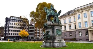 Dusseldorf Germany King stock images