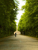Dusseldorf, Germany - public park and Goethe museum Stock Photo