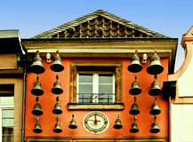 Dusseldorf, Glockenhaus in Altstadt Stock Images