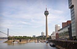 Dusseldorf innenhafen Stock Photo