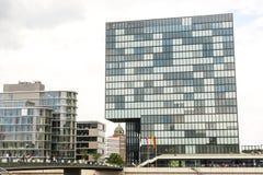 dusseldorf NIEMCY -08 07 2017 Powierzchowność luksusowy Hyatt regenci hotel Fotografia Stock