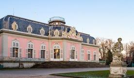 Dusseldorf, Noordrijn-Westfalen, Duitsland - Januari 22, 2017 Kasteel Benrath royalty-vrije stock foto