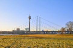 Dusseldorf, Oberkassel Immagini Stock Libere da Diritti