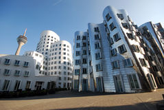 Mediahafen Dusseldorf Royalty Free Stock Image