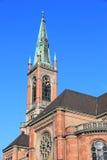 Dusseldorf protestant church Stock Image