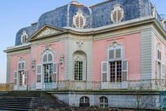 Dusseldorf, Reno-Westphalia norte, Alemanha - 22 de janeiro de 2017 Castelo Benrath Fotos de Stock