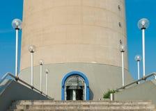 Dusseldorf Rhine tower Stock Photos
