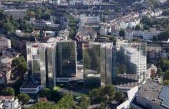 Dusseldorf van de binnenstad, Duitsland Stock Foto's