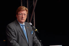 Dusseldorfs Lord Bürgermeister Dirk Elbers. Stockfoto