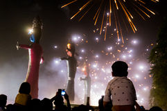 Dussera celebrations in Delhi Stock Image