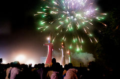 Dussera celebrations in Delhi Stock Photos
