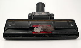 Dust. Many house dust in the vacuum cleaner Royalty Free Stock Photography