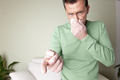 Dust Allergy Stock Photography