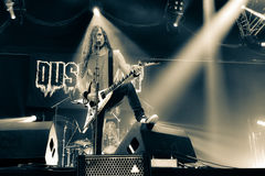 DUST BOLT IN HELLFEST 2016 Royalty Free Stock Images