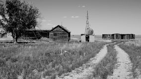 Dust Bowl Era Homestead royalty free stock image
