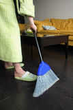 Dust Bunny. Housecleaning, housekeeping, housework Royalty Free Stock Photography