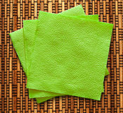 Dust cloth for cleaning Stock Image