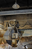 Dust covered cutting wheel Stock Photography