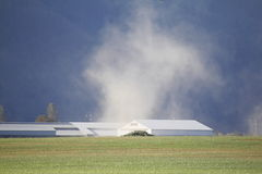 A Dust Devil. Signifies dry, parched land Royalty Free Stock Photos