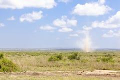 Dust Devil in Kenya Stock Images