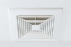 Dust and dirty airduct Royalty Free Stock Image