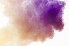 Dust explosion Royalty Free Stock Image