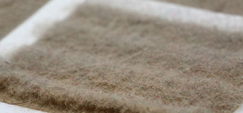 Dust on filter - macro Stock Photography