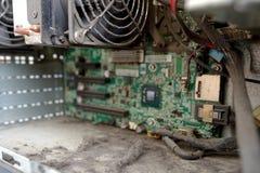 Dust inside computer Stock Photos