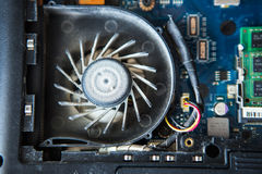Dust inside computer Stock Images