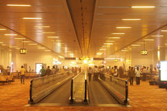 Dust inside New Delhi Airport on May 30, 2014 Royalty Free Stock Photo