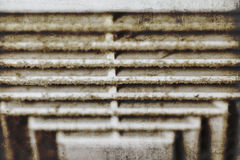 Dust out from Air Duct, Danger and the cause of pneumonia in off. Dirty Air Duct, Danger and the cause of pneumonia in office man Royalty Free Stock Image