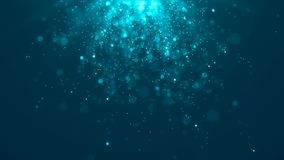 Dust particles. Abstract background of particles. Cosmic galaxy illustration. 3d rendering royalty free illustration