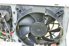 Dust on Power Supply Fan, pc computer equipment Royalty Free Stock Photography