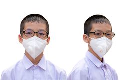 Dust protection mask stock photos