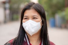 Dust protection mask ,Safety Mask royalty free stock photos